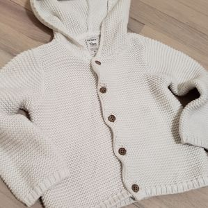 12 Month Unisex Hooded Sweater